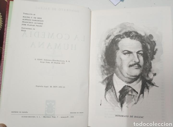 Libros de segunda mano: La comedia humana. Balzac. 4 volumenes. Edaf, 1972 - Foto 3 - 195371606