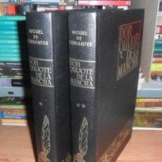 Libros de segunda mano: DON QUIJOTE DE LA MANCHA (2 TOMOS) - MIGUEL DE CERVANTES - AFANIAS - ESPASA-CALPE - 1979. Lote 195374986