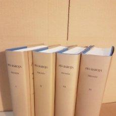 Libros de segunda mano: TRILOGÍAS ( PÍO BAROJA, BIBLIOTECA CASTRO 4 TOMOS ). Lote 195437447