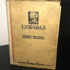 Libros de segunda mano: OS LUSÍADAS DE LUÍS DE CAMÕES [ED. 1948]. Lote 195437685