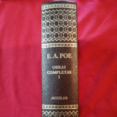 Libros de segunda mano: OBRAS COMPLETAS. TOMO I. EDGAR ALLAN POE. JULIO CORTAZAR. 2004. Lote 195444522