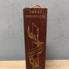 Libros de segunda mano: OBRAS DE WILLIAM SHAKESPEARE 1960 EDITORIAL OBRE. Lote 195453415