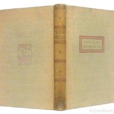Libros de segunda mano: 1943 - NOVELAS MORISCAS POR MONTEMAYOR, PÉREZ DE HITA, MATEO ALEMÁN, CASTILLO SOLÓRZANO, CERVANTES. Lote 195489785