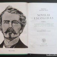 Libros de segunda mano: 1959 - AGUILAR - THOMAS MAYNE REID: NOVELAS ESCOGIDAS. TOMO I - EL LINCE INQUIETO. Lote 195492940