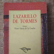 Libros de segunda mano: LAZARILLO DE TORMES. ED AUSTRAL. Lote 195494023