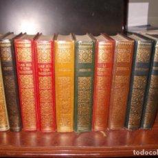 Libros de segunda mano: LOTE 10 LIBROS BIBLIOTECA DE LOS GRANDES CLÁSICOS MAIL IBÉRICA, EDICIONES NAUTA 1.967, VER FOTOS CON. Lote 195503206
