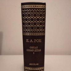 Libros de segunda mano: OBRAS COMPLETAS EDGAR ALLAN POE. TOMO I. Lote 195518613