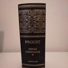 Libros de segunda mano: OBRAS COMPLETAS MARCEL PROUST. TOMO II. Lote 195518886