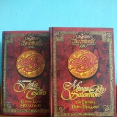 Libros de segunda mano: LOTE 2 NOVELAS DE AVENTURAS. Lote 195547832