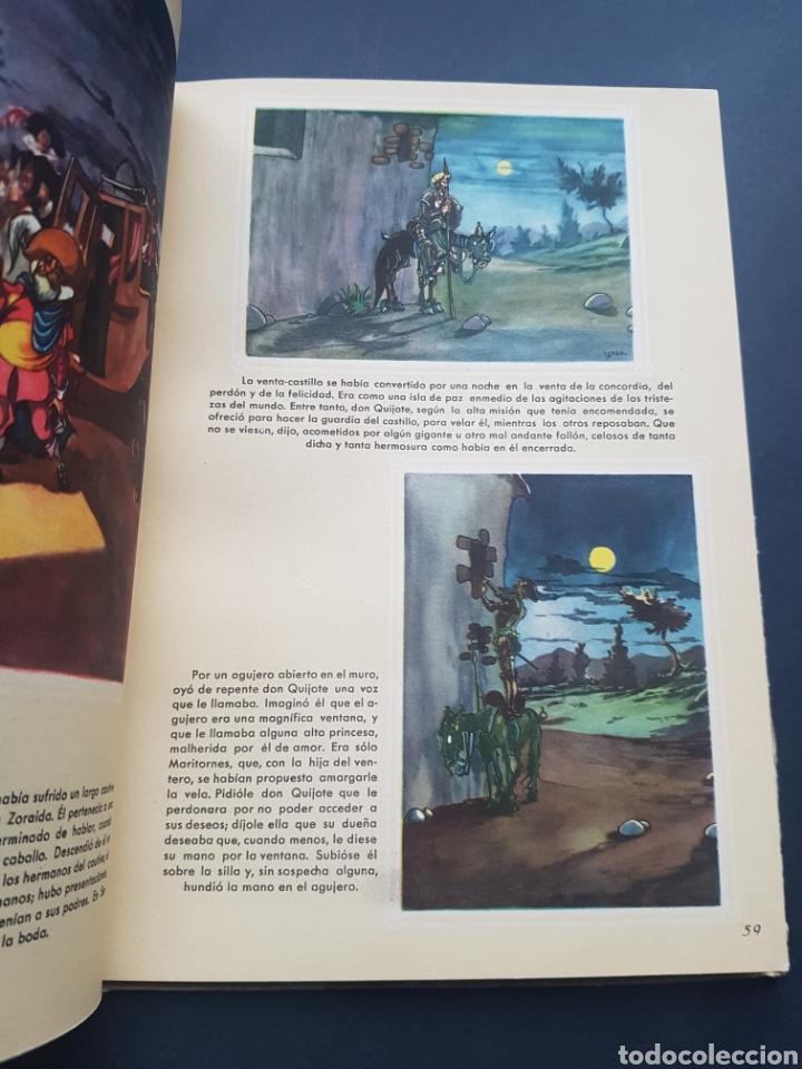 Libros de segunda mano: Lote 2 El ingenioso hidalgo Don Quijote de la Mancha de Archivo de Arte Barcelona Tomo II y Tomo IV - Foto 4 - 195568045