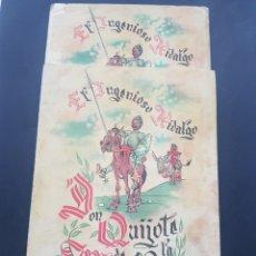Libros de segunda mano: LOTE 2 EL INGENIOSO HIDALGO DON QUIJOTE DE LA MANCHA DE ARCHIVO DE ARTE BARCELONA TOMO II Y TOMO IV. Lote 195568045