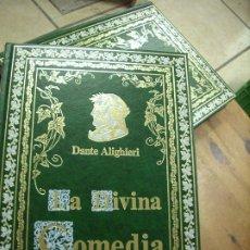 Libros de segunda mano: LA DIVINA COMEDIA, DANTE ALIGHIERI. (TOMOS I Y II). EP-432. Lote 260018285