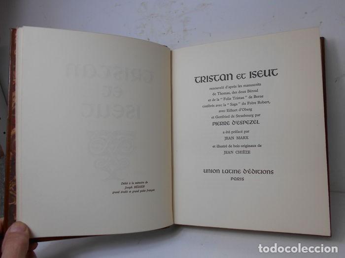 Libros de segunda mano: Jean Chieze y Pierre dEspezel - Tristan et Iseut - Foto 5 - 196084376