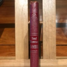 Libros de segunda mano: CRISOL AGUILAR. KNUT HAMSUN, HAMBRE. 1952.. Lote 196133115