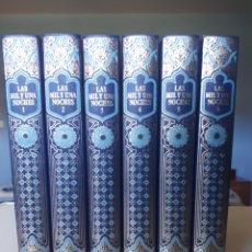 Libros de segunda mano: LAS MIL Y UNA NOCHES. 6 TOMOS. Lote 196761766