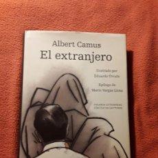 Libros de segunda mano: ALBERT CAMUS / EL EXTRANJERO / ILUSTRACIONES EDUARDO ÚRCULO / GALAXIA CIRCULO.. Lote 207409410