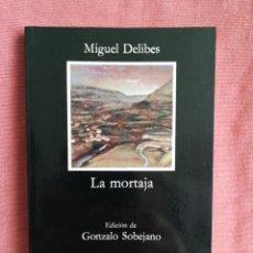 Livros em segunda mão: LA MORTAJA - MIGUEL DELIBES - CÁTEDRA Nº 199. Lote 197510577