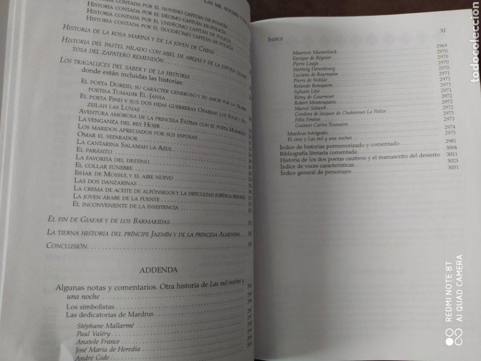 Libros de segunda mano: LAS MIL Y UNA NOCHE II. CÁTEDRA. BIBLIOTECA AVREA. CARTONÉ CON SOBRECUBIERTA. Primera edición abril - Foto 4 - 197561612