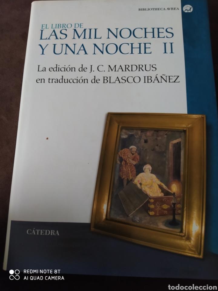 LAS MIL Y UNA NOCHE II. CÁTEDRA. BIBLIOTECA AVREA. CARTONÉ CON SOBRECUBIERTA. PRIMERA EDICIÓN ABRIL (Libros de Segunda Mano (posteriores a 1936) - Literatura - Narrativa - Clásicos)