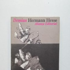 Livres d'occasion: DEMIAN. - HERMANN HESSE - ALIANZA EDITORIAL Nº 138. TDK443. Lote 197753300