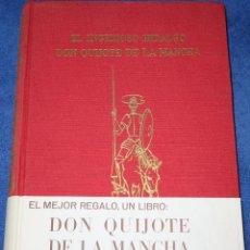 Libros de segunda mano: EL INGENIOSO HIDALGO DON QUIJOTE DE LA MANCHA - J. PÉREZ DEL HOYO EDITOR (1963). Lote 197883122
