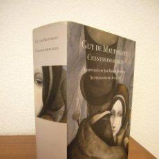 Libros de segunda mano: GUY DE MAUPASSANT: CUENTOS ESENCIALES (MONDADORI, GRANDES CLÁSICOS, 2008) ED. ILUSTRADA TAPA DURA. Lote 197904951