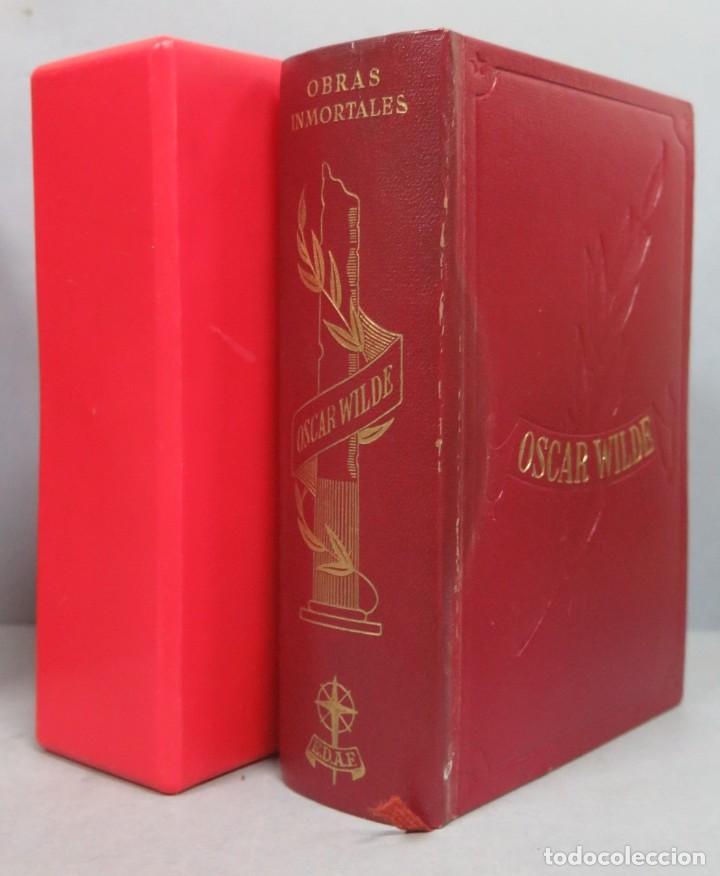 1970.- OBRAS INMORTALES. OSCAR WILDE. CON ESTUCHE. EDAF (Libros de Segunda Mano (posteriores a 1936) - Literatura - Narrativa - Clásicos)