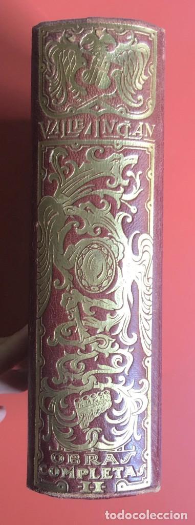 Libros de segunda mano: OBRAS COMPLETAS DE DON RAMON DEL VALLE INCLAN - TOMO II - RIVADENEYRA - ENCUADERNACIÓN PIEL - Foto 2 - 198681661
