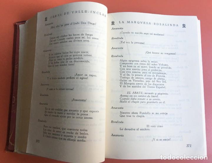 Libros de segunda mano: OBRAS COMPLETAS DE DON RAMON DEL VALLE INCLAN - TOMO II - RIVADENEYRA - ENCUADERNACIÓN PIEL - Foto 9 - 198681661