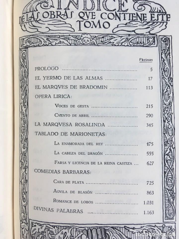 Libros de segunda mano: OBRAS COMPLETAS DE DON RAMON DEL VALLE INCLAN - TOMO II - RIVADENEYRA - ENCUADERNACIÓN PIEL - Foto 16 - 198681661