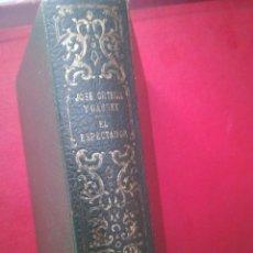 Libros de segunda mano: EL ESPECTADOR DE ORTEGA Y GASSET PAPEL BIBLIA SEMIPIE 1100 PÁGINAS. Lote 199199923