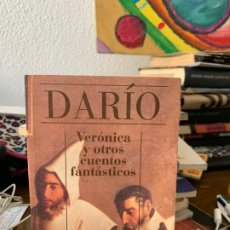 Libros de segunda mano: VERONICA Y OTROS CUENTOS FANTÁSTICOS, DARIO, ALIANZA CIEN, 70. Lote 199501201