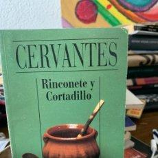Libros de segunda mano: RINCONETE Y COTADILLO, CERVANTES, ALIANZA CIEN 25. Lote 199501283