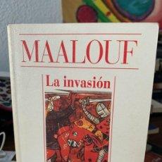 Libros de segunda mano: LA INVASION, MAALOUF, ALIANZA CIEN, 36. Lote 199502022