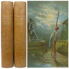 Libros de segunda mano: 1973 - CERVANTES: DON QUIJOTE DE LA MANCHA - 2 GRANDES TOMOS ILUSTRADOS POR GUSTAVO DORÉ . Lote 199508321
