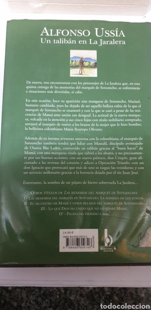 Libros de segunda mano: Alfonso Ussia un talibán en la jaralera - Foto 2 - 199687547