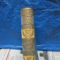 Libros de segunda mano: POESIAS COMPLETAS, GABRIELA MISTRAL, AGUILAR, COLECCION PREMIOS NOBEL, 1958. Lote 199748992
