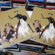 Libros de segunda mano: DON QUIJOTE DE LA MANCHA. 2 TOMOS . MIGUEL DE CERVANTES . ILUSTRADO POR RIERA ROJAS. 1966 .. Lote 200069142