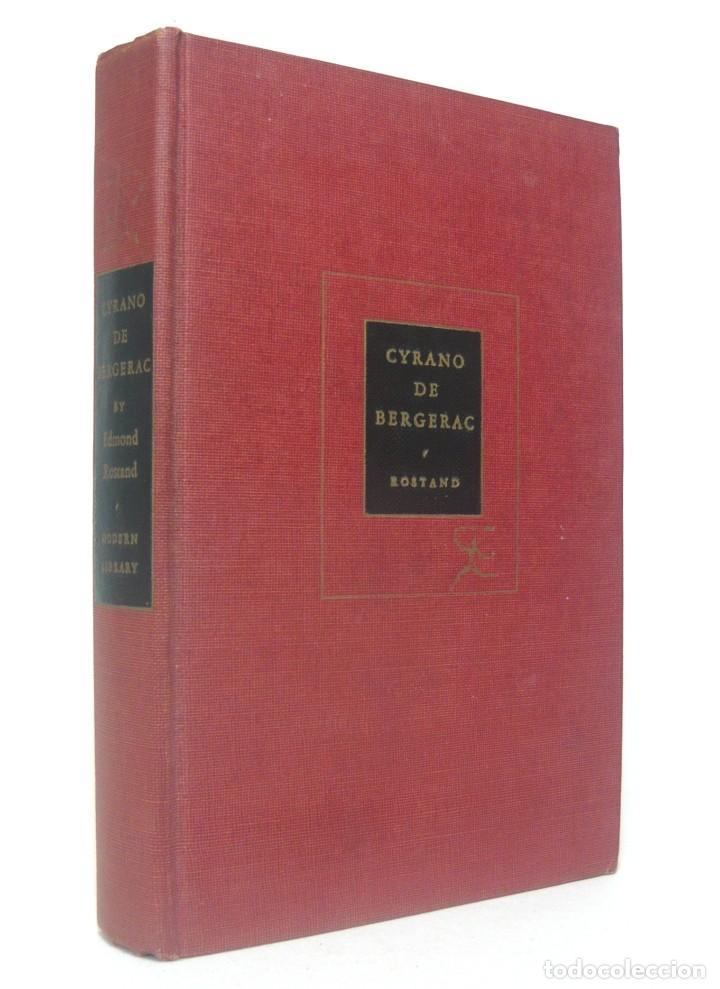 Libros de segunda mano: 1950 - Edmond Rostand: Cyrano de Bergerac - New York, Random House, The Modern Library - Tela - Foto 2 - 200166816