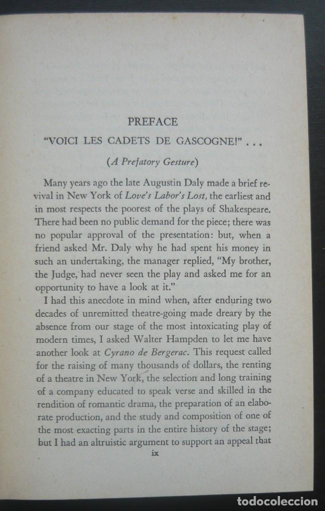 Libros de segunda mano: 1950 - Edmond Rostand: Cyrano de Bergerac - New York, Random House, The Modern Library - Tela - Foto 4 - 200166816