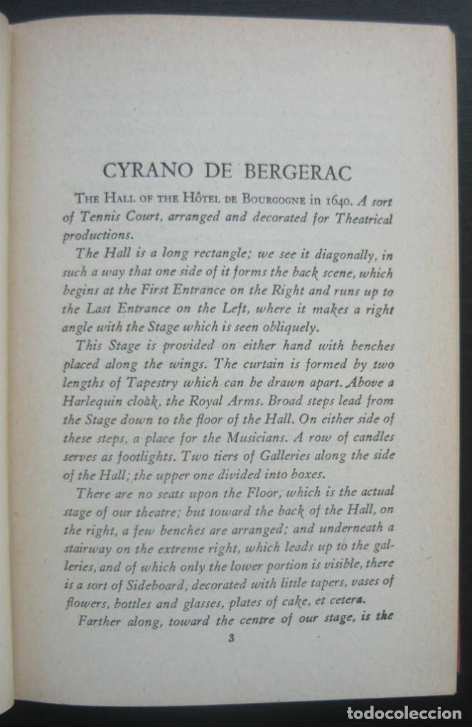 Libros de segunda mano: 1950 - Edmond Rostand: Cyrano de Bergerac - New York, Random House, The Modern Library - Tela - Foto 5 - 200166816