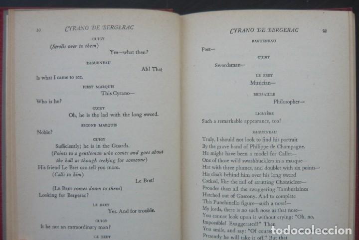 Libros de segunda mano: 1950 - Edmond Rostand: Cyrano de Bergerac - New York, Random House, The Modern Library - Tela - Foto 6 - 200166816