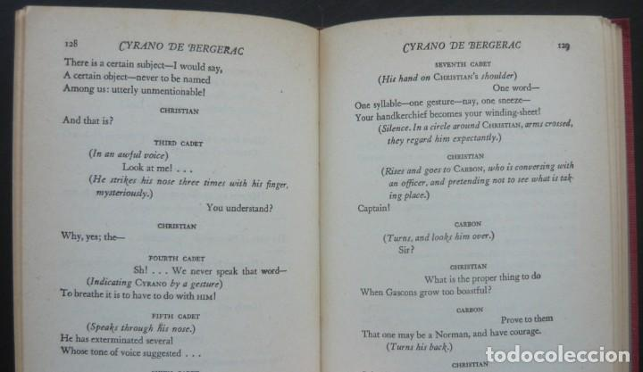 Libros de segunda mano: 1950 - Edmond Rostand: Cyrano de Bergerac - New York, Random House, The Modern Library - Tela - Foto 7 - 200166816
