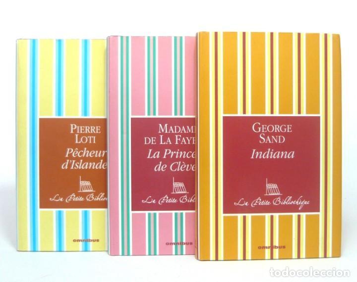 Libros de segunda mano: 2005 - George Sand, La Fayette, Pierre Loti - Lote de 3 Bonitos Libros Franceses - - Cortes Dorados - Foto 2 - 200167883