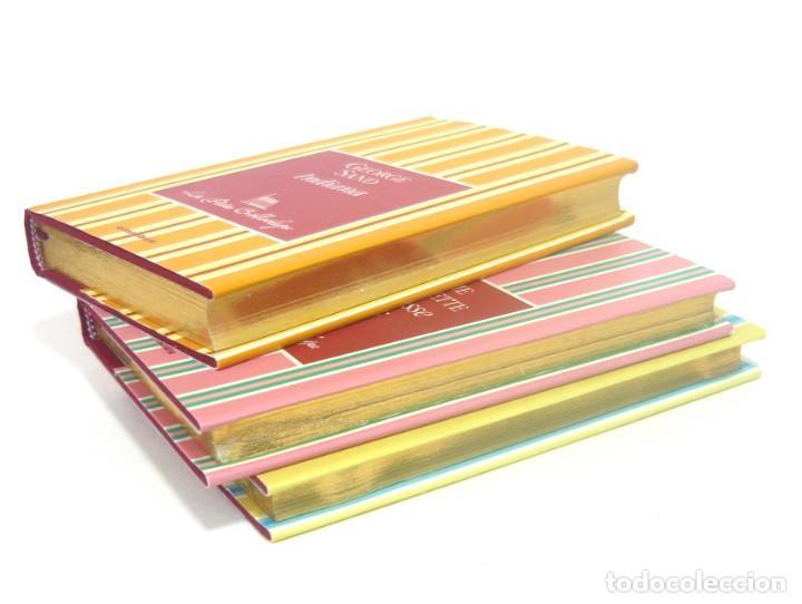 Libros de segunda mano: 2005 - George Sand, La Fayette, Pierre Loti - Lote de 3 Bonitos Libros Franceses - - Cortes Dorados - Foto 3 - 200167883
