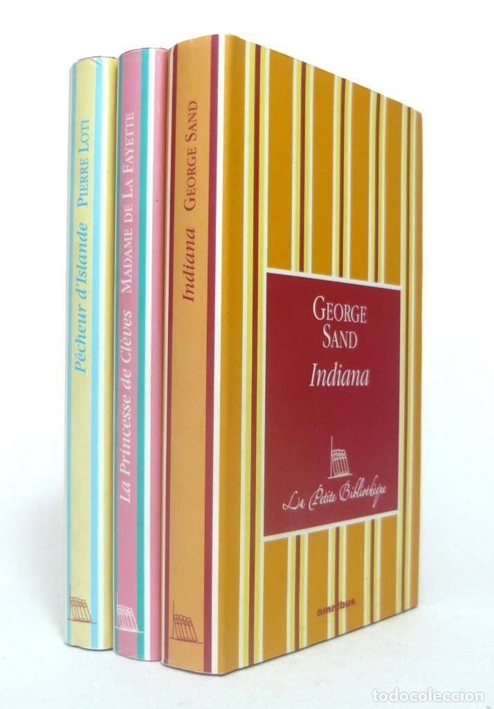Libros de segunda mano: 2005 - George Sand, La Fayette, Pierre Loti - Lote de 3 Bonitos Libros Franceses - - Cortes Dorados - Foto 9 - 200167883