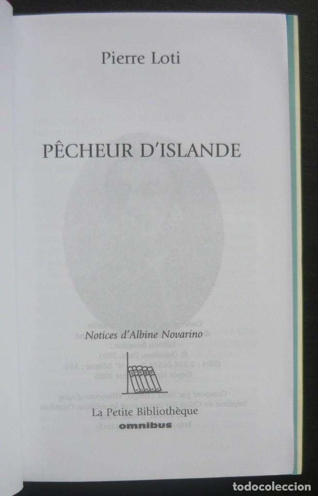 Libros de segunda mano: 2005 - George Sand, La Fayette, Pierre Loti - Lote de 3 Bonitos Libros Franceses - - Cortes Dorados - Foto 4 - 200167883