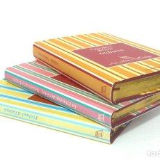 Libros de segunda mano: 2005 - GEORGE SAND, LA FAYETTE, PIERRE LOTI - LOTE DE 3 BONITOS LIBROS FRANCESES - - CORTES DORADOS. Lote 200167883