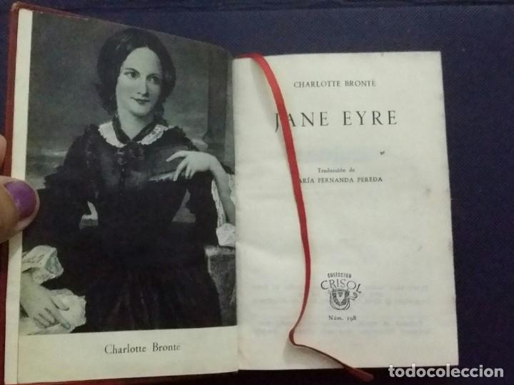 Libros de segunda mano: LIBRO JANE EYRE. DE CHARLOTTE BRONTË. 1949. AGUILAR. 3a. EDICIÓN - Foto 3 - 200739617