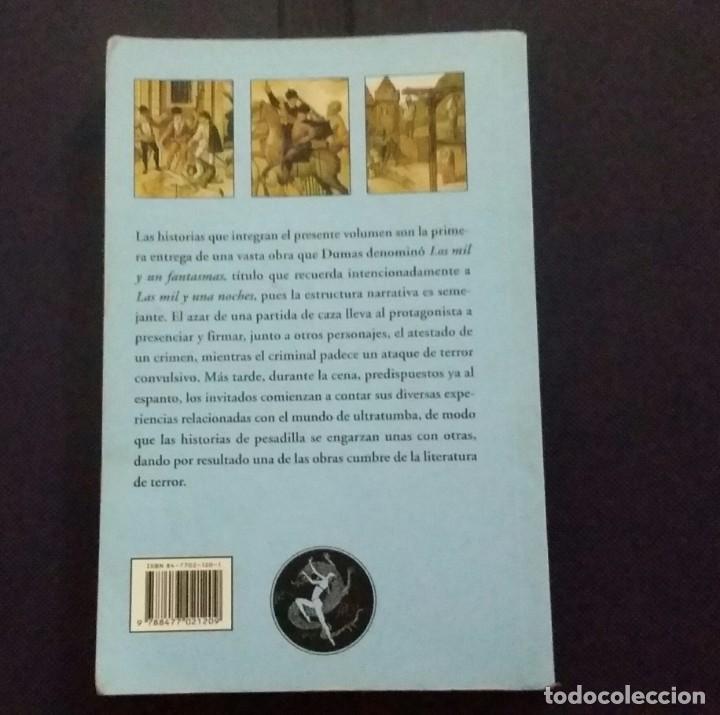 Libros de segunda mano: LIBRO ALEXANDER DUMAS. LAS TUMBAS DE SAINT - DENIS Y OTROS RELATOS DE TERROR. EL CLUB DIÓGENES - Foto 2 - 201136625